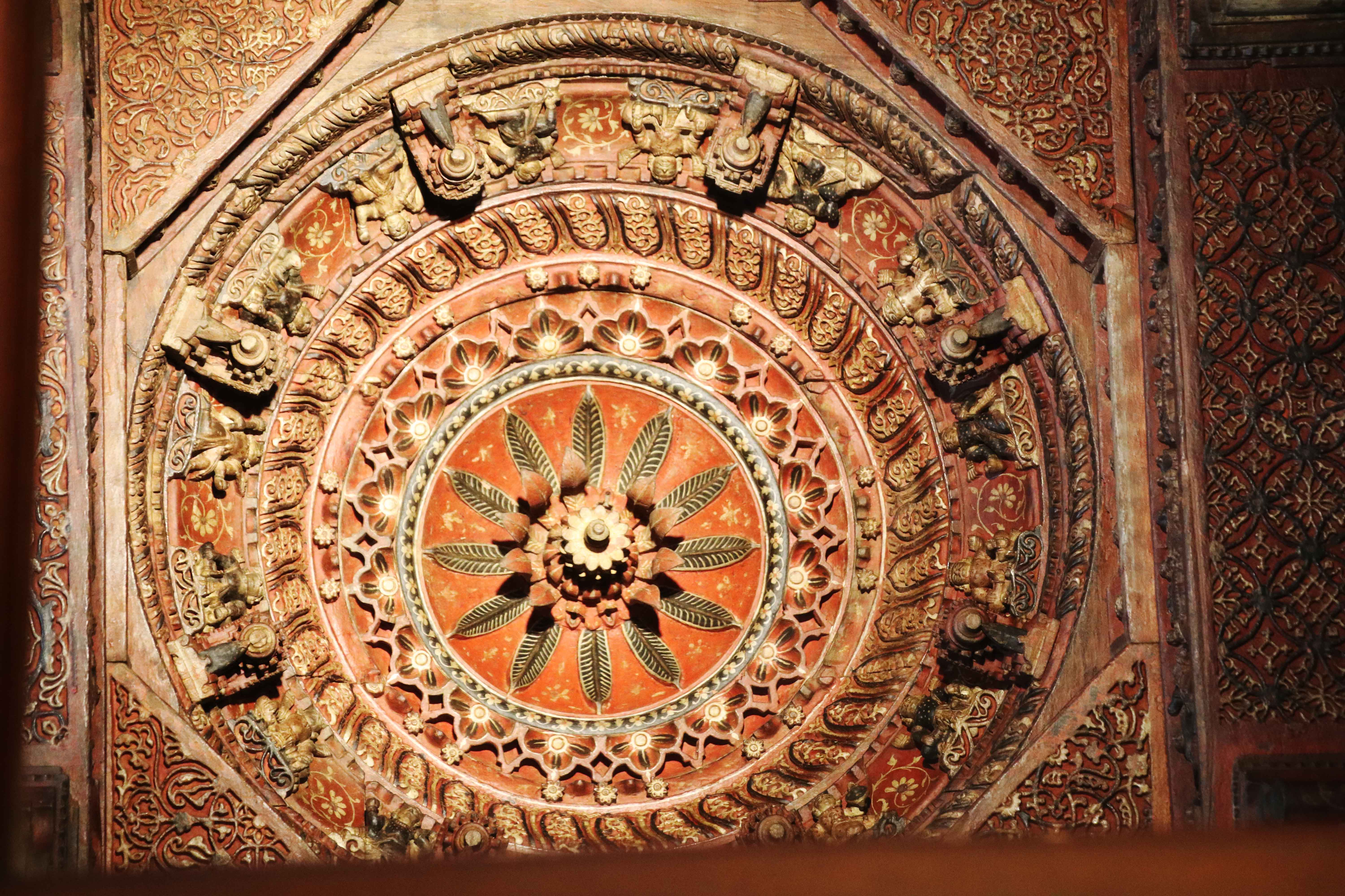 jain roof carvings