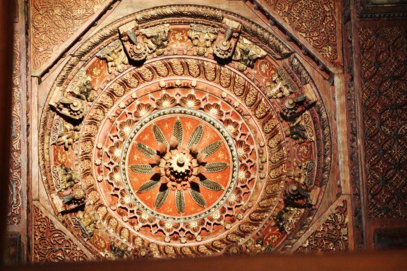 jain roof carvings