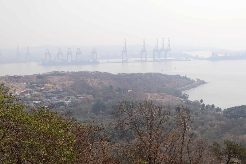 elephanta hill view